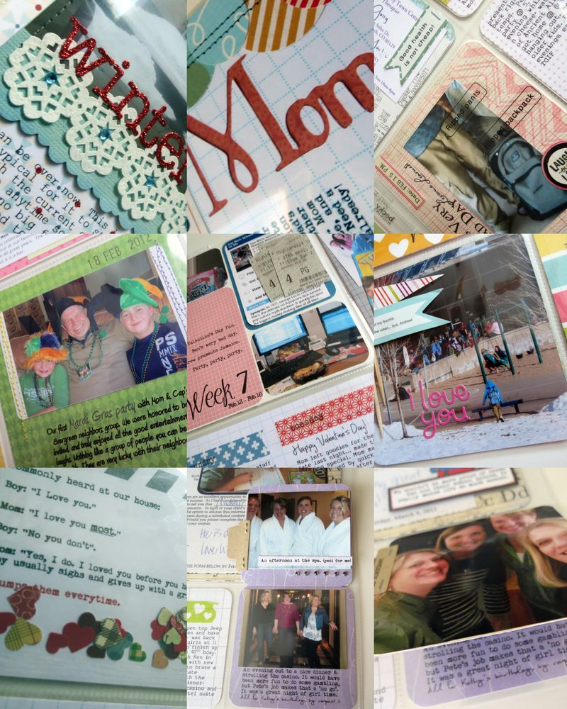 PhotoSheet 8x10 (12 Wk 6 ,12 Wk 6 ,12 Wk 7 ,12 Wk 7 ,12 Wk 7 ,12 Wk 8 ,12 Wk 8 ,12 Wk 9 ,12 Wk 9 )