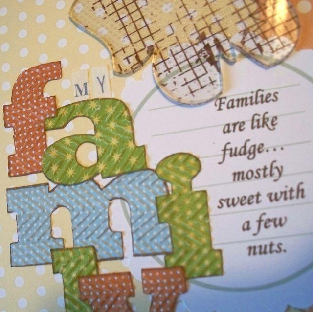 Family Title (closeup)