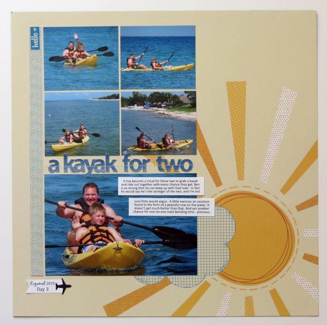 Kayak for 2
